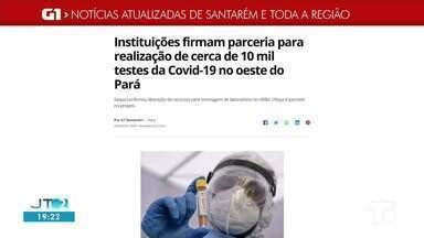 Parceria entre instituições para realização de testes da Covid-19 é destaque no G1 Santaré - Acesse essa e outras notícias no portal.