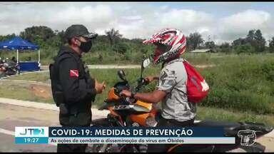 Confira as ações de combate ao coronavírus em Óbidos, no oeste paraense - No município tem 4 casos confirmados da doença.