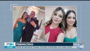 Missa online lembra morte de Vanessa Carvalho - Missa online lembra morte de Vanessa Carvalho