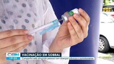 Campanha de vacinação contra a gripe - Confira mais notícias em g1.globo.com/ce