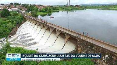 Reservatórios do Ceará registram melhor índice dos últimos 6 anos - Confira mais notícias em g1.globo.com/ce