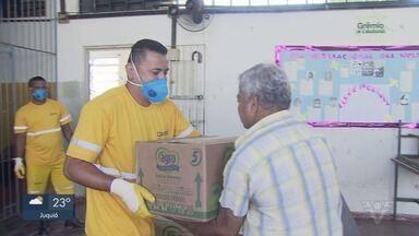 Empresas fazem doação para hospitais e famílias carentes da região - Terminal de açúcar doou álcool 70 para hospitais e tem comprado lanches para caminhoneiros. Outra empresa entregou alimentos para famílias carentes.