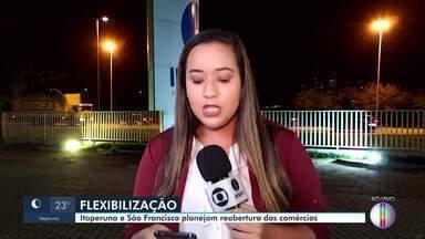 Itaperuna e São Francisco de Itabapoana planejam reabertura dos comércios - Prefeituras permitiram que estabelecimentos comerciais reabrissem, mas mantendo restrições e seguindo as orientações da Organização Mundial de Saúde.