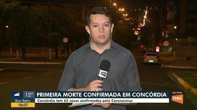Primeira morte por coronavírus em Concórdia é confirmada - Primeira morte por coronavírus em Concórdia é confirmada