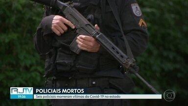 Seis policiais morreram de Covid-19 no estado - Cento e trinta e seis policiais testaram positivo para o novo coronavírus.