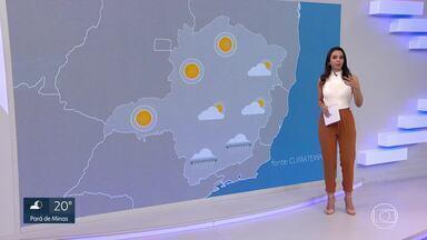 Domingo vai ser de sol e calor - Veja a previsão do tempo para Minas Gerais e a Região Metropolitana de Belo Horizonte