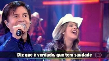 Domingão faz homenagem a um dos ritmos musicais mais amados do Brasil: O Sertanejo - Confira a trajetória do ritmo musical no palco do Domingão