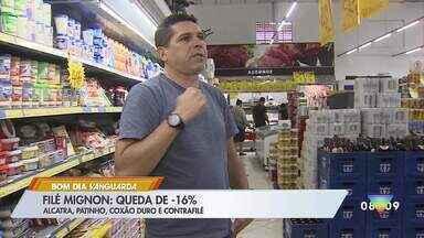 Preço da carne registra queda por causa da Covid-19 - Levantamento é da Associação Paulista de Supermercados.