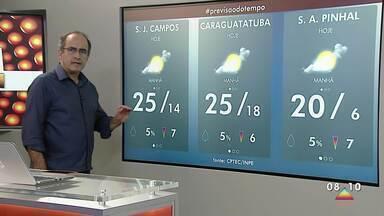 Confira previsão do tempo para segunda - Semana começou mais fria.