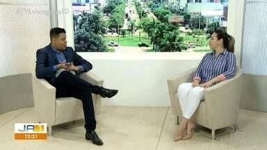 Prefeita de Palmas fala sobre ações de combate a Covid-19 - Prefeita de Palmas fala sobre ações de combate a Covid-19