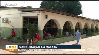 Hospital Municipal de Marabá está sobrecarregado - Hospital Municipal de Marabá está sobrecarregado