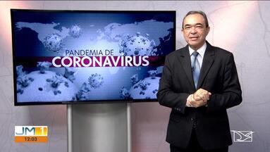 Veja a atualização de casos do novo coronavírus no Maranhão - O repórter Elbio Carvalho tem mais informações.