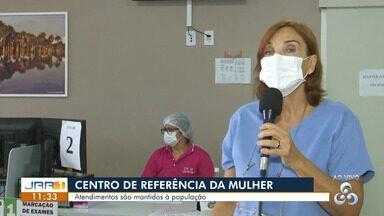Atendimentos do Centro de referência da mulher são mantidos mesmo em pandemia - Atendimentos são mantidos à população .