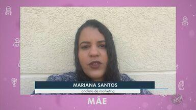 Coronavírus: mensagem de Dia das Mães de analista de marketing - Mariana Santos fala sobre a importância da quarentena em meio à pandemia de Covid-19.
