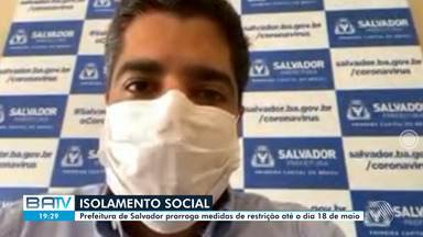 Prefeito de Salvador suspende atividades até dia 18 de maio - Confira o que diz ACM Neto.