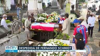 Destaques do dia: Ex-presidente do Bahia morreu nesta madrugada, aos 76 anos - Confira este e outros destaques desta segunda-feira (4).