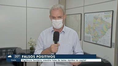 Vigilância Sanitária interdita lotes de testes rápidos na Capital - Vigilância Sanitária interdita lotes de testes rápidos na Capital