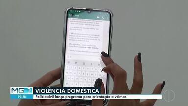 Polícia civil lança sistema para facilitar denúncias de violência doméstica - Sistema tem como objetivo facilitar as denúncias.
