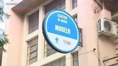 Emergências dos principais hospitais de Porto Alegre estão vazias após surto de Covd-19 - Coronavírus mudou o perfil de atendimento no sistema de saúde da Capital.
