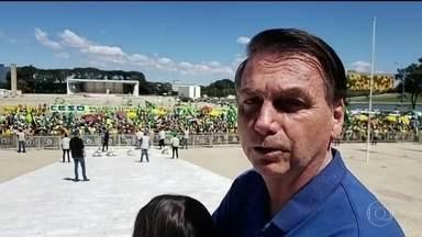 Defesa reafirma compromisso das Forças Armadas com lei, ordem, democracia e liberdade - Declaração em nota é divulgada um dia depois de o presidente Jair Bolsonaro dizer ter as Forças Armadas ao lado dele. O presidente participava de uma manifestação antidemocrática que teve ataques ao Congresso e ao Supremo.