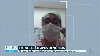 Diretores de dois hospitais de Cabo Frio, RJ, são demitidos após denúncia - Na denúncia, uma funcionária do hospital São José Operário afirmava que na unidade não tinham as condições mínimas para o trabalho.