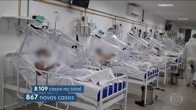 MP do Amazonas pede lockdown em Manaus no mesmo dia em que número de mortes bate recorde - Sessenta e cinco mortes foram registradas em 24 horas, o maior número até agora. No total, são 649 mortes no estado.