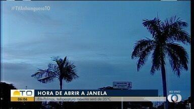 Temperatura máxima em Palmas devem chegar aos 35ºC nesta quarta-feira (6) - Temperatura máxima em Palmas devem chegar aos 35ºC nesta quarta-feira (6)