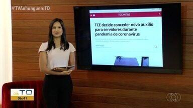 G1: TCE decide conceder um novo auxílio para servidores durante pandemia - G1: TCE decide conceder um novo auxílio para servidores durante pandemia