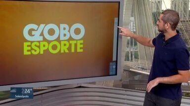 Veja o bloco do Globo Esporte no SP1 de quarta-feira, 06/05/2020 - Veja o bloco do Globo Esporte no SP1 de quarta-feira, 06/05/2020