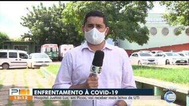 Hospital Justino Luz deve ganhar mais leitos de UTI - Hospital Justino Luz deve ganhar mais leitos de UTI