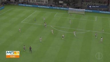 Confira como foi a semifinal da Copa GE virtual - Dois jogadores do Atlético-MG participaram da disputa.