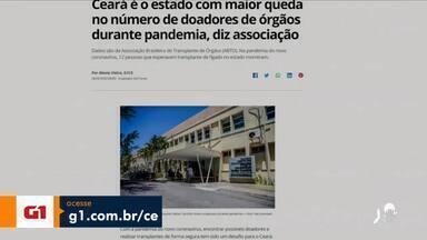 Veja os destaques do G1 Ceará desta quarta-feira (06) - Saiba mais em g1.com.br/ce