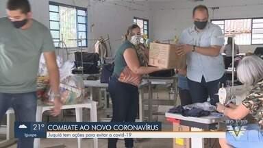 Juquiá realiza ações para evitar a Covid-19 - Cidade do Vale do Ribeira pensa em estratégias para evitar o novo coronavírus.