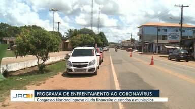 Covid-19: PL que prevê ajuda para estados e municípios é aprovado em Brasília - Covid-19: PL que prevê ajuda para estados e municípios é aprovado em Brasília