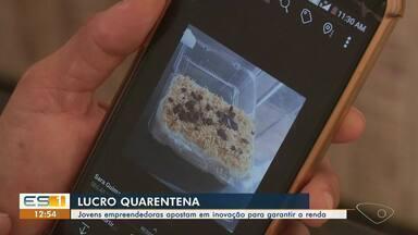 Jovens empreendedoras de Cachoeiro de Itapemirim, ES, apostam em inovação - Elas encontraram saídas para garantir a renda durante a pandemia do novo coronavírus.