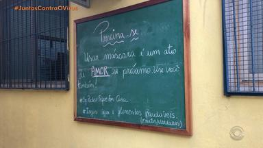 Unidade de saúde da Vila Pedreira, em Esteio, retoma atividades - Somente enfermeiros e técnicos de enfermagem estão atendendo.