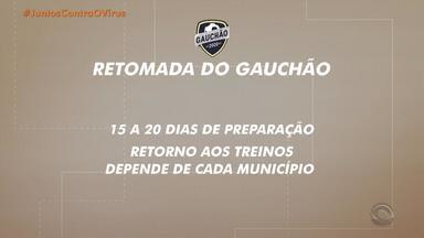 Eduardo Leite e Federação Gaúcha de Futebol define que futebol não retornará em maio - Prefeitos das cidades gaúchas dividem opiniões sobre volta dos jogos.