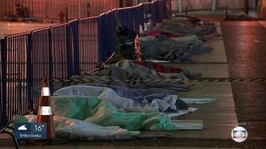 Prefeitura prepara abrigo para pessoas em situação de rua com Covid-19 - Entre os mortos pelo novo coronavírus no Estado, 22 são pessoas sem-teto.