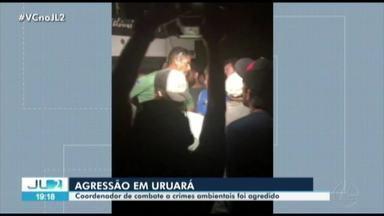 PF apura agressão a coordenador de operação do Ibama no Pará - Operação combatia crimes ambientais em Uruará.