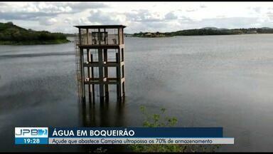 Açude de Boqueirão passa dos 70% da capacidade total - Expectativa é para uma grande sangria ainda este ano.