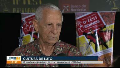 Jornalista e escritor Wills Leal morre em João Pessoa - Wills sofreu uma parada cardiorrespiratória e não resistiu.