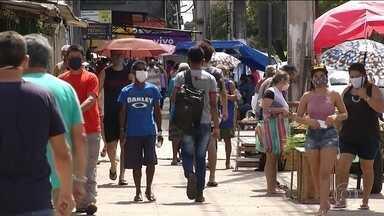 Em Belém, parcela considerável da população não está respeitando as medidas de restrição - O bloqueio restringe a circulação de cerca de 2,7 milhões habitantes durante dez dias.