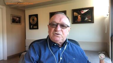 Pedro Ernesto Denardin fala do retorno do futebol no RS - Assista ao vídeo.