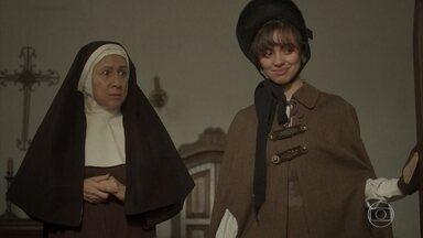 Madre Assunção permite que Peter visite Amália - A religiosa procura Cecília para pedir ajuda. Peter aceita manter segredo sobre a existência de Amália no convento e promete fazer consultas regulares à moça