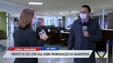Prefeito de São José dos Campos comenta prorrogação da quarentena no estado - Confira reportagem do Jornal Vanguarda desta sexta-feira (8).