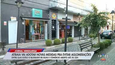 Atibaia adota novas medidas para evitar aglomerações - Confira reportagem do Jornal Vanguarda desta sexta-feira (8).