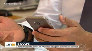 Médico é vítima de golpe em Goiânia - Ele teve celular clonado e criminosos conseguiram dinheiro de clientes e familiraes.