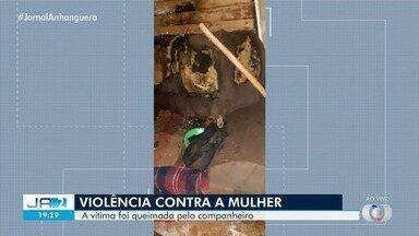 Morre em hospital mulher que foi queimada pelo companheiro em Rio Verde - Briga teria sido causada por ciúmes.