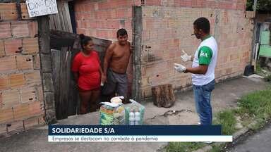 Empresas privadas se destacam no combate à pandemia - Série de reportagens Solidariedade/SA mostra exemplos de empresas que investem em doações