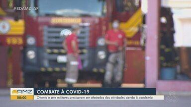 Mais de 80 bombeiros já foram afastados durante a pandemia do novo coronavírus no Amapá - Mais de 80 bombeiros já foram afastados durante a pandemia do novo coronavírus no Amapá